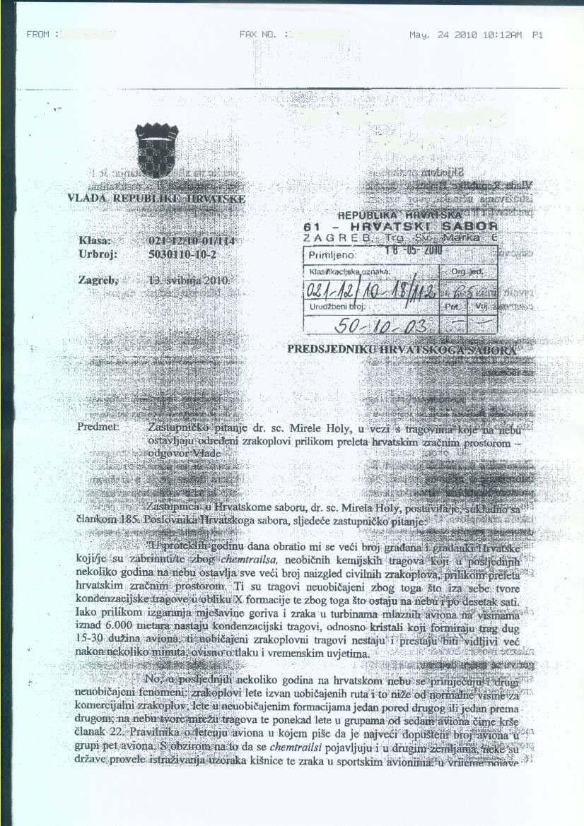 """CHEMTRAILS"""" NAPOKON U HRVATSKOM SABORU: Pročitajte objašnjenje premijerke Kosor Kem_hrv_1"""