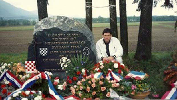 Michael Palaich 1989 in Bleiburg