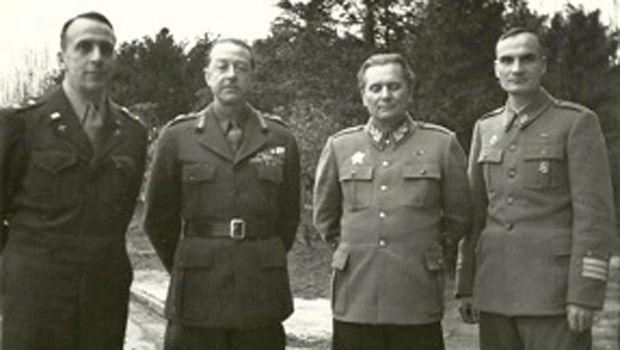 Marshall Alexander and war criminal Josip Broz Tito